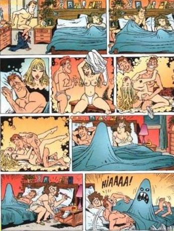 Комиксы аниме эро